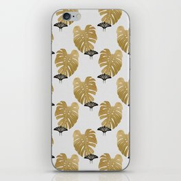 Botanical, Butterfly & Monstera iPhone Skin