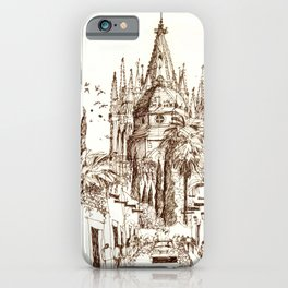 Cathedral, San Miguel de Allende iPhone Case