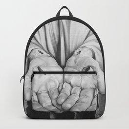 Jesus Hands Backpack