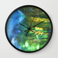 monet Wall Clocks featuring Monet Like by Cindi Ressler Photography