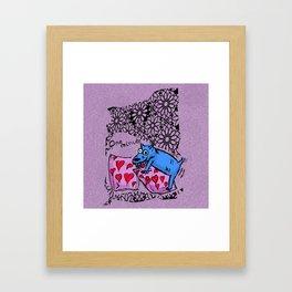 Perrete serie 2 Framed Art Print