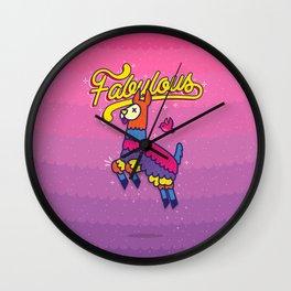 Fabulous Wall Clock