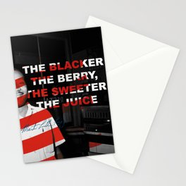 Martin L.K, The Black The Berry Stationery Cards