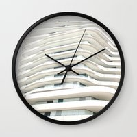 architecture Wall Clocks featuring Architecture by Fine2art