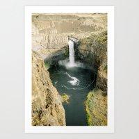 Palouse Falls Art Print
