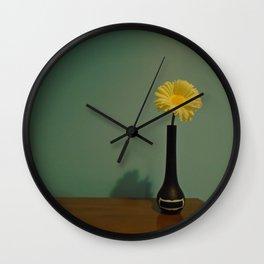 Flower In the Open Wall Clock