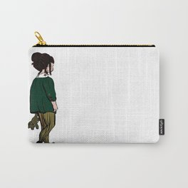 Teddy Girl Carry-All Pouch