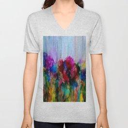 blooming Unisex V-Neck