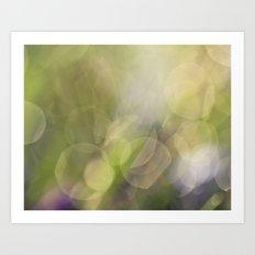 Spring Drops Art Print