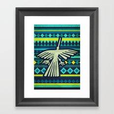 Nazca Condor Framed Art Print