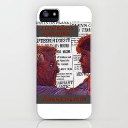 Absence of Malice iPhone Case