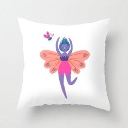 Dancing Fairy Throw Pillow