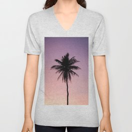 Summer Palms Unisex V-Neck