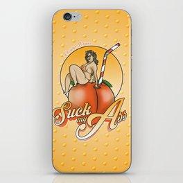 SUCK MY ASS iPhone Skin
