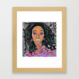 Keisha Johnson Framed Art Print