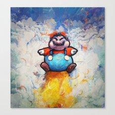 P Balloon - Super Mario World Series / Gaming & Video Games Canvas Print