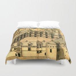 Chateau d'Assier 1680 Duvet Cover