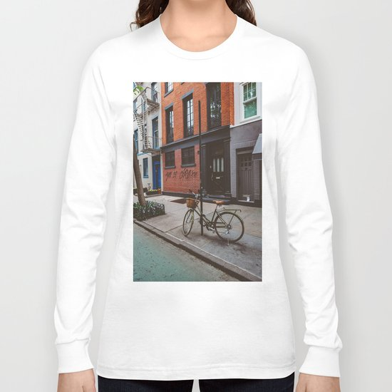 New York's West Village Long Sleeve T-shirt