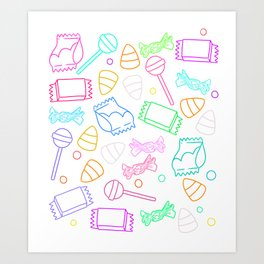 Perfect friday night Art Print