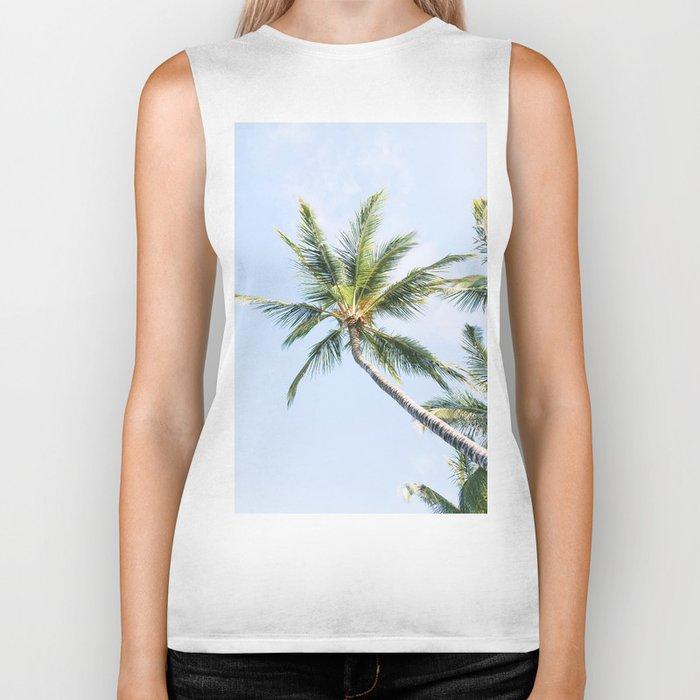 Palm trees Biker Tank