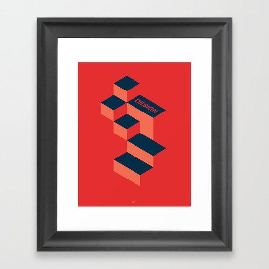 Design Framed Art Print