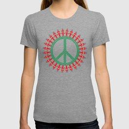 Peace Weed Mushroom T-shirt
