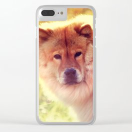 Do Not Disturb. Prince. Chow Chow Dog Clear iPhone Case