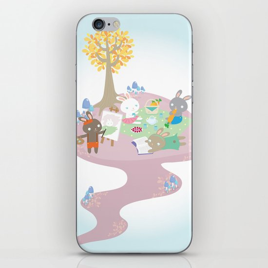 picnic day iPhone & iPod Skin