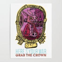 Mementos of the great cartoon war #1 Poster