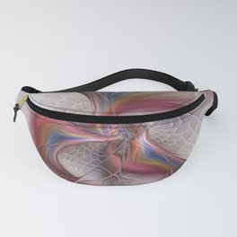 Abstract Dancing, Fractal Art Fanny Pack