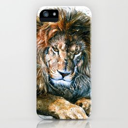 Lion 3 Wild and Free iPhone Case