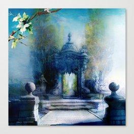 La porte du palais Canvas Print