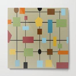 Modern Art Abstract 29/2 Metal Print