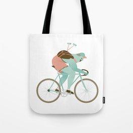 Biker guy Tote Bag