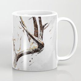 King of the Forrest - Trophy Buck - Deer Coffee Mug