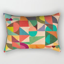 Color Field Rectangular Pillow