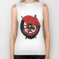 military Biker Tanks featuring USSR military symbol by fludra.info