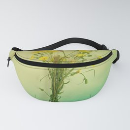 Yellow weeds Fanny Pack