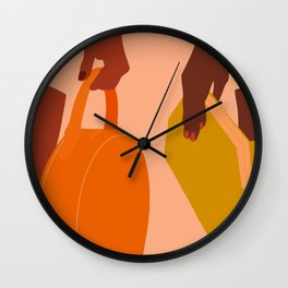 Travel Abroad Wall Clock