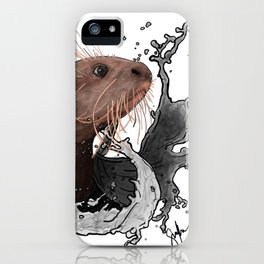Cujo giant river otter iPhone Case