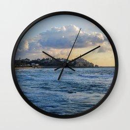 Jaffa Sea View Wall Clock