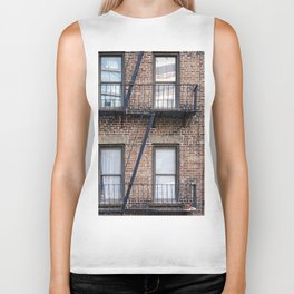 New York Fire Escape Biker Tank