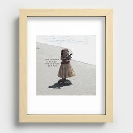 Wolfen Hula Babe Recessed Framed Print