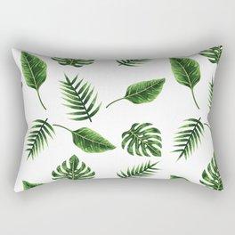 TROPICAL LEAVES 3 Rectangular Pillow