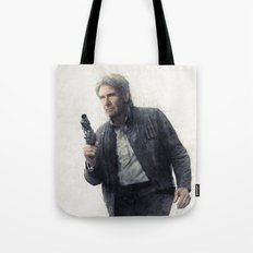 Hans Solo Watercolor Tote Bag
