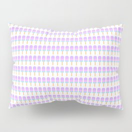 Popsicle Pattern Pillow Sham