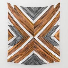 Urban Tribal Pattern 4 - Wood Wall Tapestry