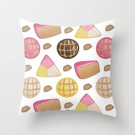 Pan de Dulce Throw Pillow