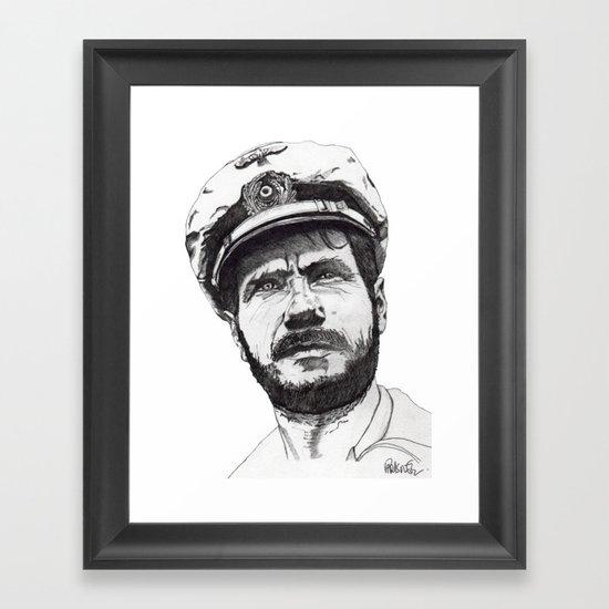 Das Boot Framed Art Print
