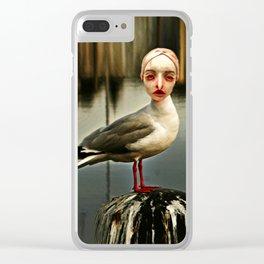 Seagul Nahuala Clear iPhone Case